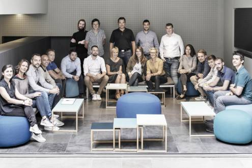 Our studio, Equipe de l'agence PACE, photographie : © Agence PACE